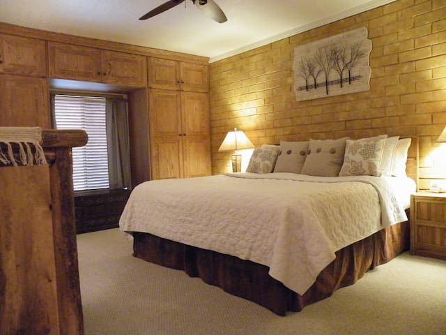 Master BR - King, Lots of Closet space!, Private bath w/ shower