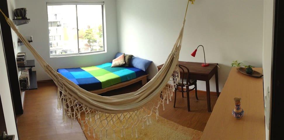 Great room in amazing location! - 波哥大(Bogotá) - 公寓