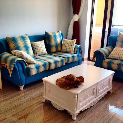 西海岸度假三室公寓 Haikou West Coast  3-Bedroom Apartment