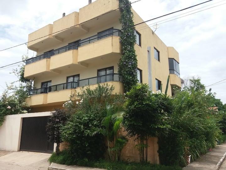 Apartamento aconchegante mobiliado Barra do Jucu