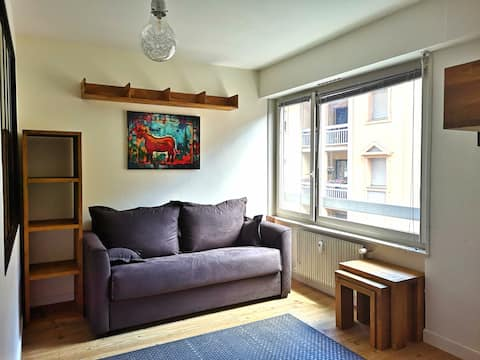 Charmant petit appartement, centre de Sallanches.