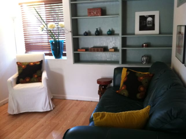 TV and sitting room