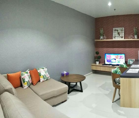 Liberty 707 @ i-City 1BR/3 Pax/WiFi/Parking/Nflix