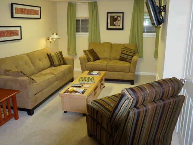 2 Bedroom Private Apartment near DC - Takoma Park - Apartment