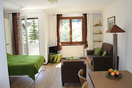 Wohnung mit Balkon in Andermatt - Andermatt - 公寓