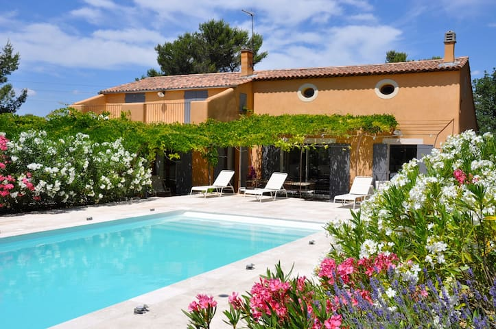 Pays d'Aix-en-Provence Appt avec jardin et piscine - Fuveau