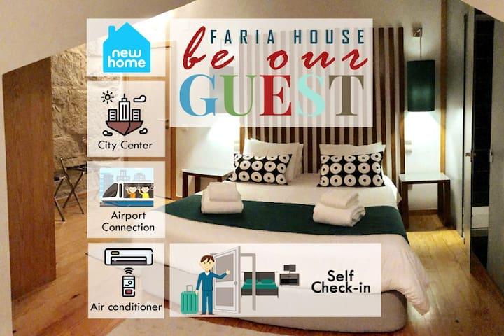 Porto Faria House 7:  Cozy Suite, +AC » Subway