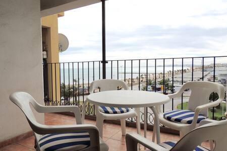 Relaxing beach apartment w/ terrace - Port Sa Platja