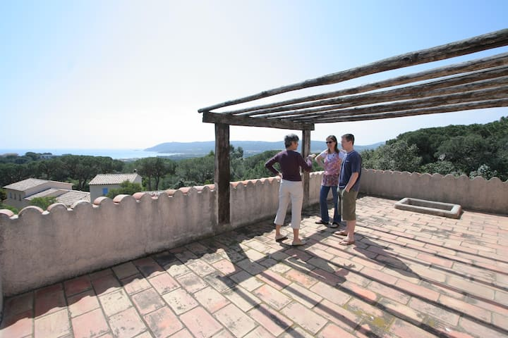 Les terrasses de  Pampelonne