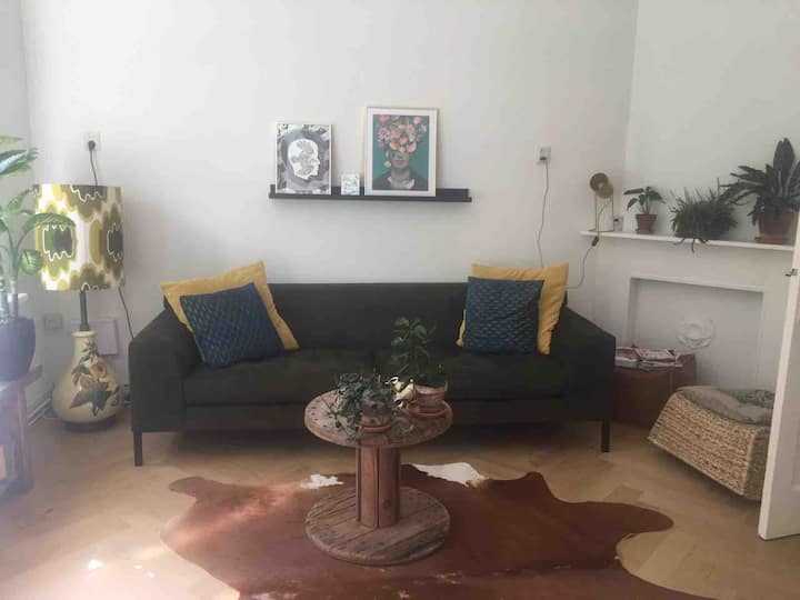 Lovely apartment with garden 9 minutes from center