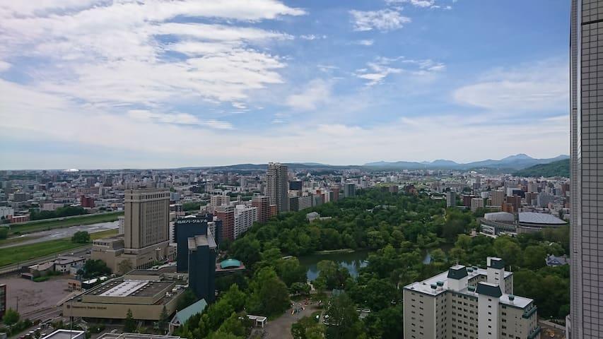Free wi-fi great view & location 快適に楽しむ北海道旅行