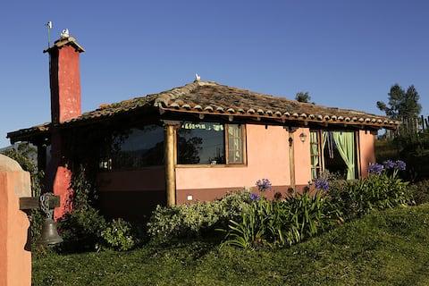 Cabane de rêve près d'Otavalo.