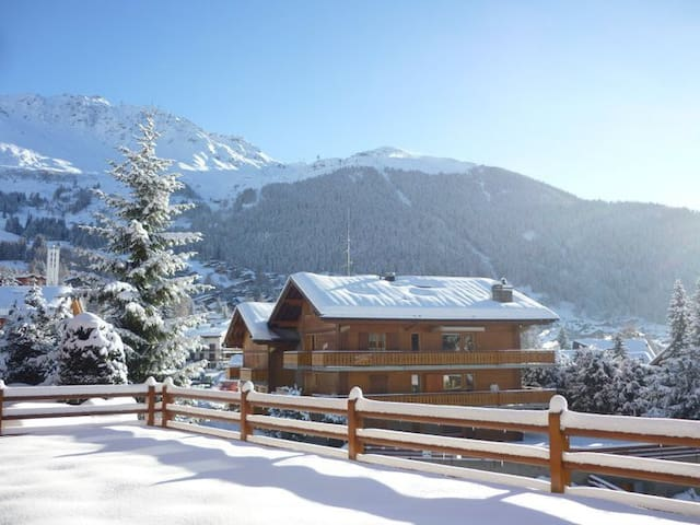 Double room in central Verbier - Bagnes - Wohnung
