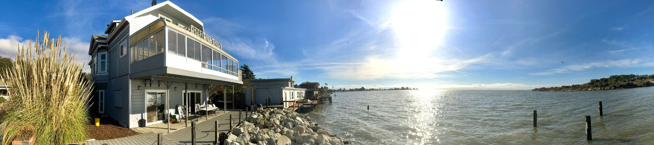 San Francisco Bay Water Front Home