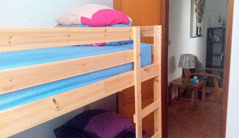 Single Bed(s) 4 Person Dorm Room(s) Super Comfy :)