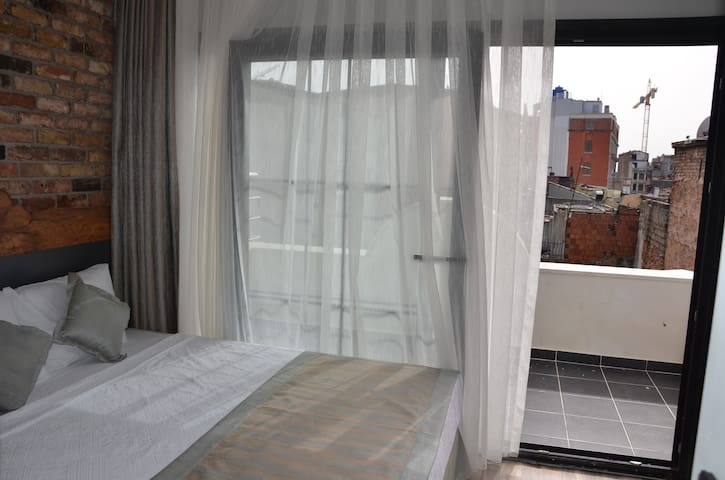 Terrace room view to Istiklal