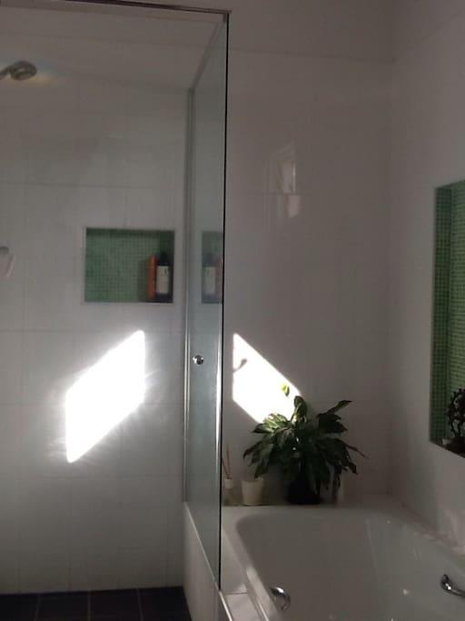 private use of bathroom