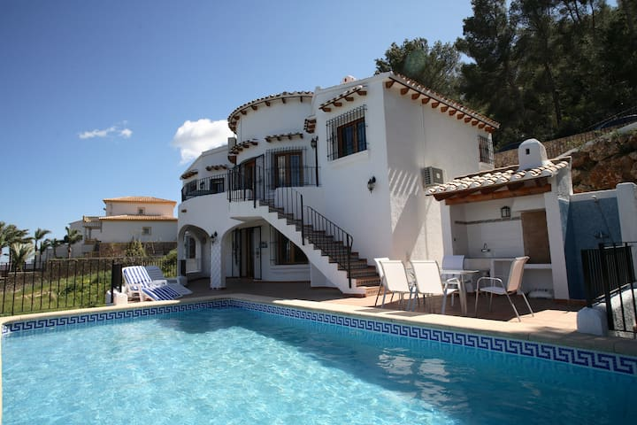 Great villa with private pool and seaviews - Dénia - Villa