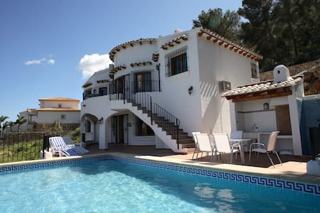 Great villa with private pool and seaviews - Dénia