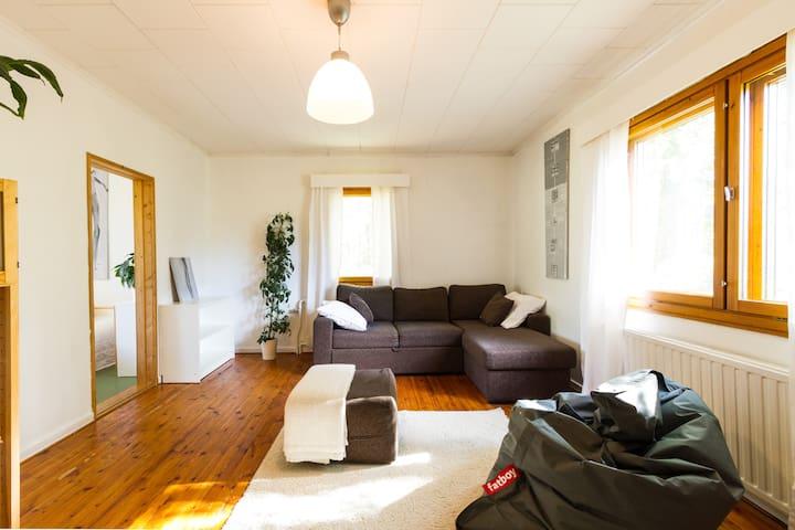 Idyllic house, 100 m2, Rovaniemi - Rovaniemi - Casa