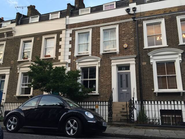 London (Hackney) Victorian House - London - Hus