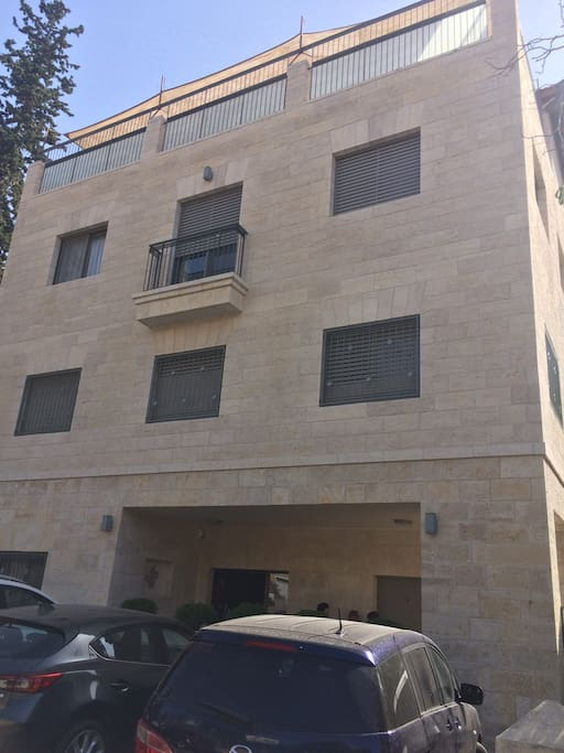 Modern new building
