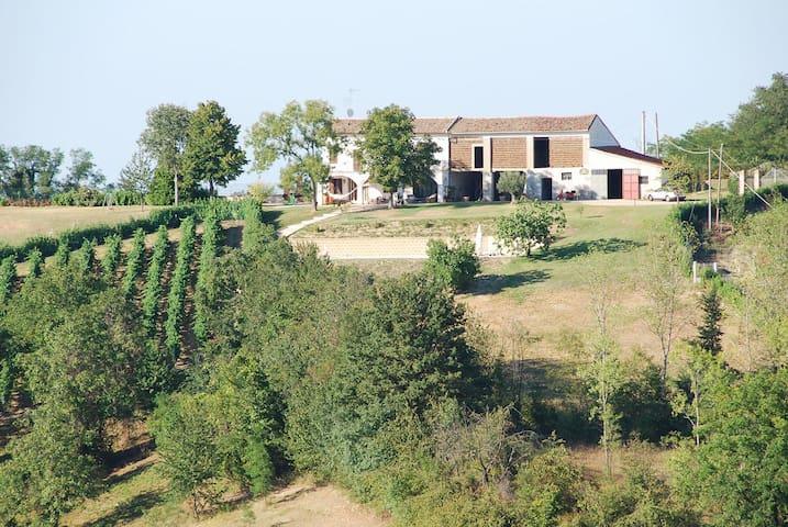 Cascinale nel cuore del Monferrato - Castelletto Merli - Villa