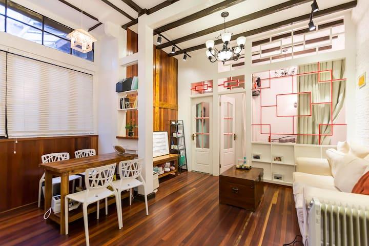Classic Remodeled Shanghai Lane House - Shanghai - Wohnung