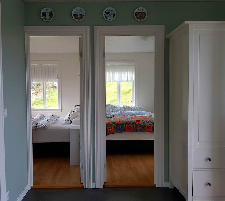 Bedroom 1 and 2