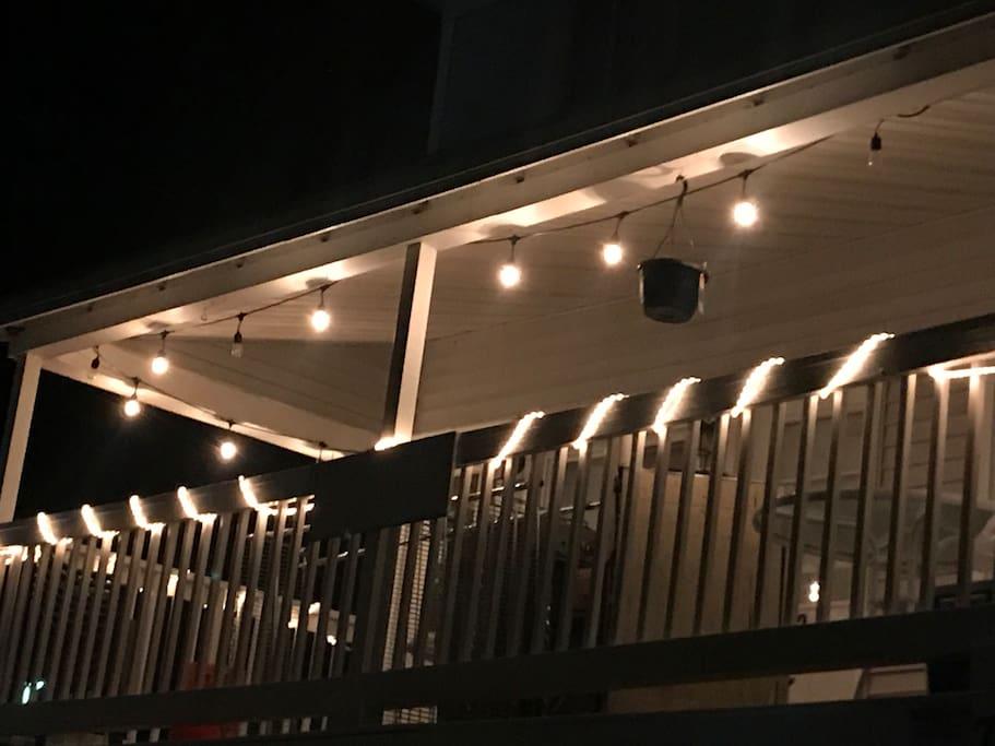 Exterior of Unit at Night w/Mood Lighting