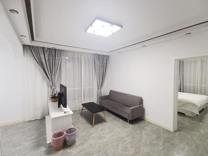 山海广场两室一厅No1.