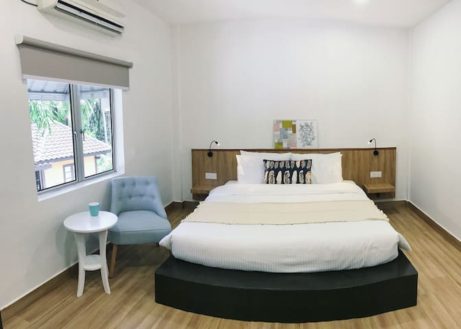 KingBed with natural retreat at Kuah town-1SK(LKW)