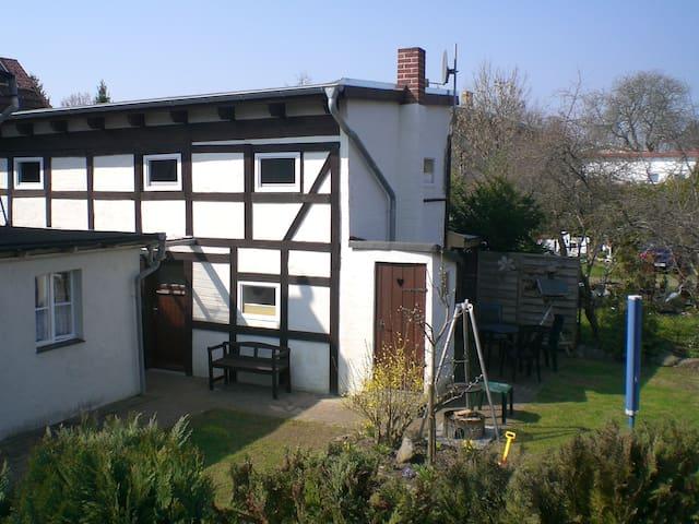 Fachwerkhaus an der alten Schmiede - Altefähr