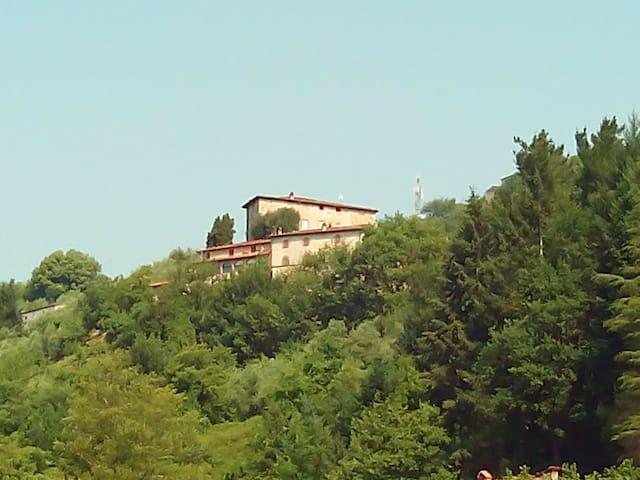 Nel Colle Valdottavo-Lucca-Toscana - Valdottavo - Apartament