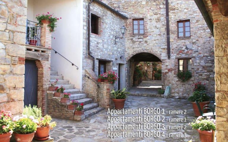 Borgo Villa a Sesta - Appartamento - Castelnuovo Berardenga - Pis