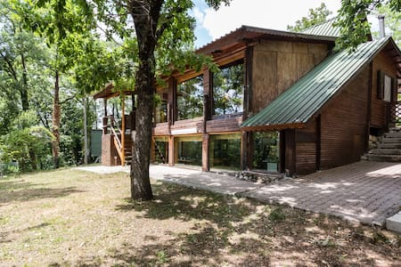 "Chalet in legno ""hideaway"" - Cupaello - Cabane"