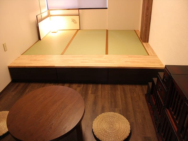 Japanese style room, close to Kenrokuen!