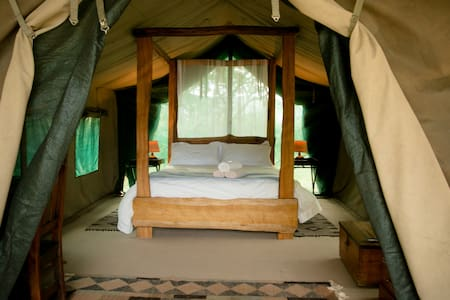Weavers Nest Luxury Family Tented Camp - Malkerns - 帐篷