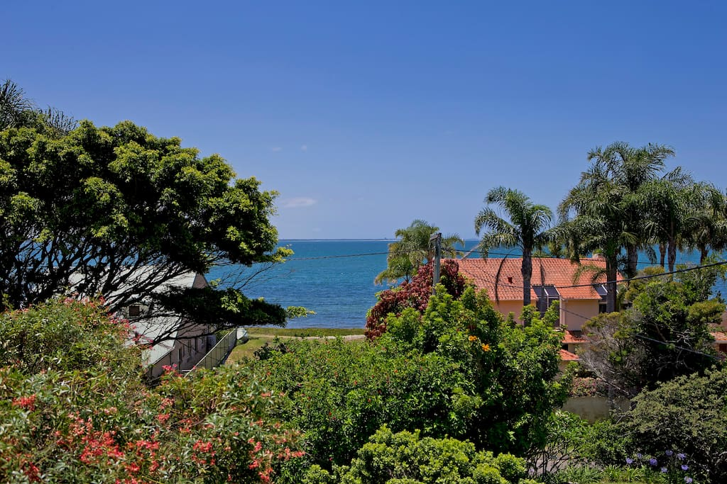 View of Salamander Bay from the house