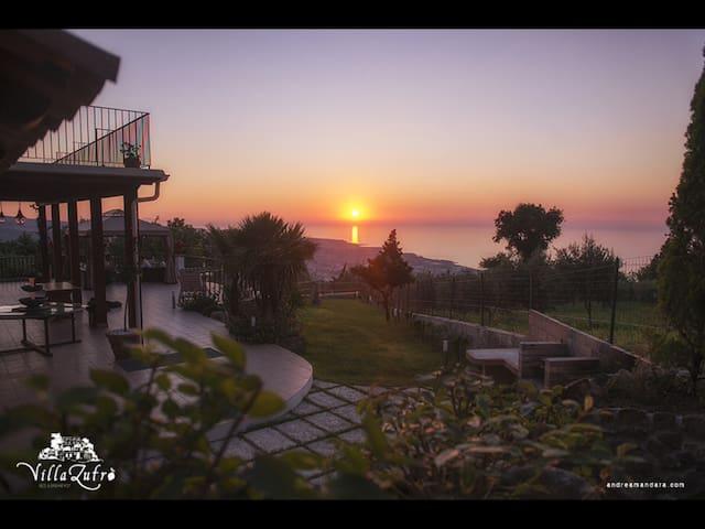 B&B Villa Zufrò - Vibo valentia - Aamiaismajoitus