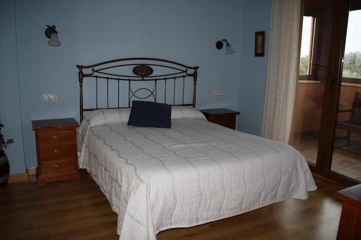 Acogedora habitacion en  Casa Rural LA DEHESA
