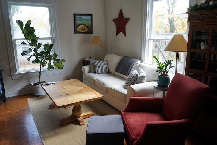 Cozy, creative apartment just steps from nightlife