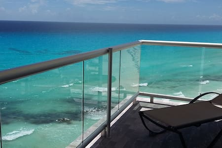 Oceanfront suite en inmejorable ubicación - 坎昆
