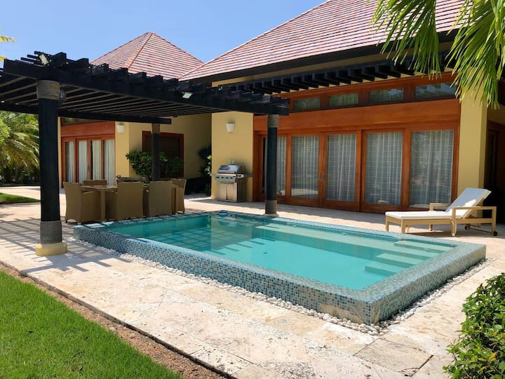 Cozy villa 2 BR with private pool in Cap Cana, DR