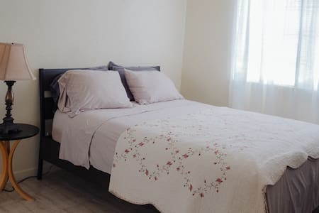 Comfy queen bed room2 off PCH