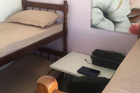 Quarto com 4 camas - Rio Centro, Praias, Cachoeira - Rio de Janeiro - Apartmen
