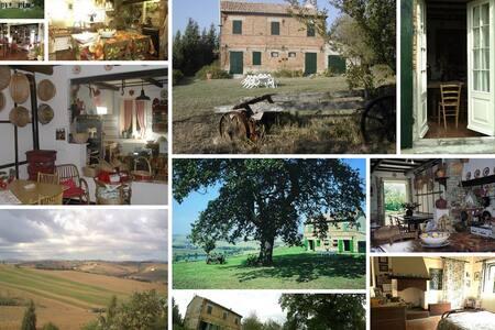 Casale colonico nelle marche - Spicello - Villa
