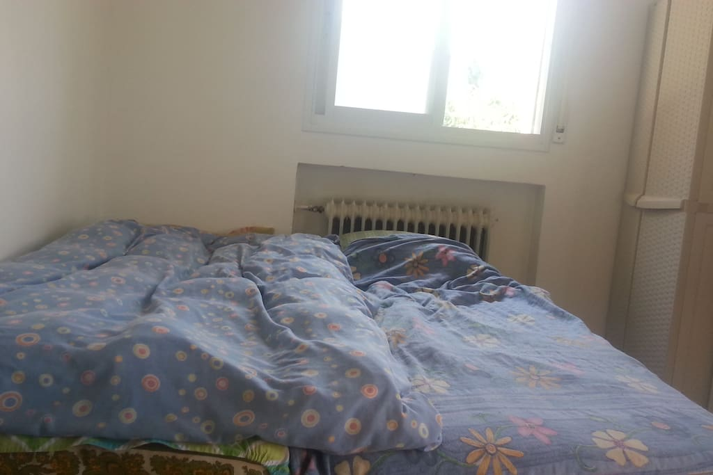 The Bedroom With Two Beds