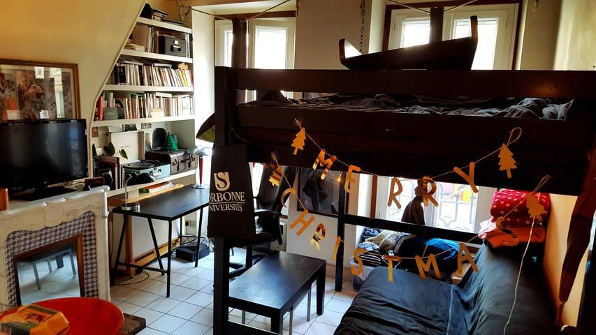 Confy studio near Bastille/Gare de lyon - Paris - Apartment