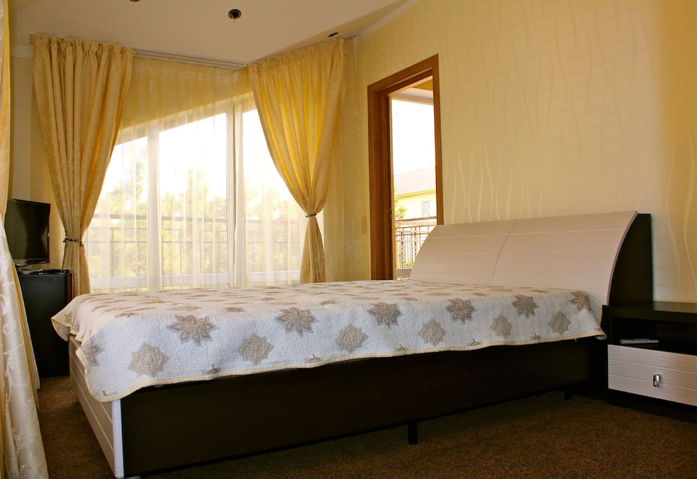 Комната на 3 этаже с видом на горы